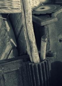 rusty iron wood image