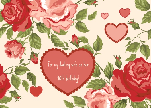 love, hearts, roses, birthday, romantic